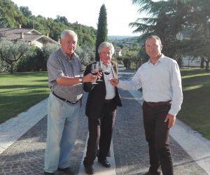 da sinistra Francesco Vittorio Borghetti, Renzo BIghignoli e Daniele Accordini