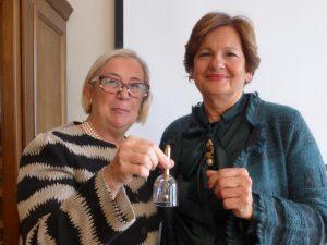 Donne del Vino - Donatella Cinelli Colombini e Elena Martusciello (1)