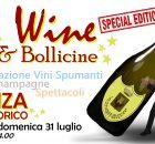 Poster sky wine magia & bollicine